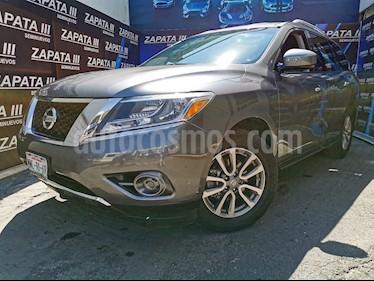 Nissan Pathfinder Sense usado (2015) color Gris Oxford precio $245,000