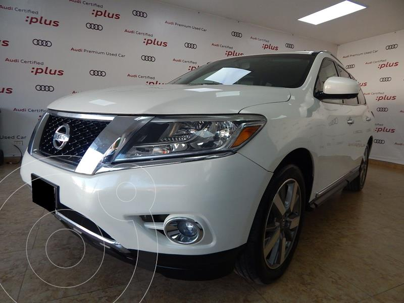Foto Nissan Pathfinder Exclusive 4x4 usado (2014) color Blanco precio $255,000