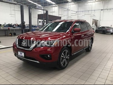 Nissan Pathfinder Exclusive usado (2018) color Rojo precio $519,000