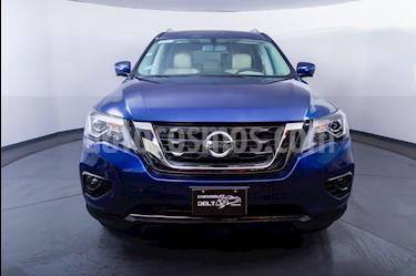 Nissan Pathfinder Exclusive usado (2018) color Azul Metalico precio $425,500