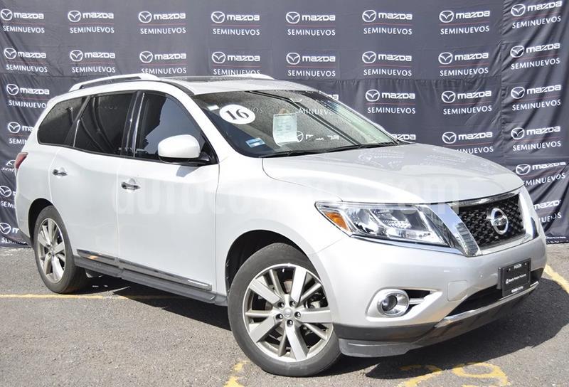 Nissan Pathfinder Exclusive usado (2016) color Plata precio $337,500