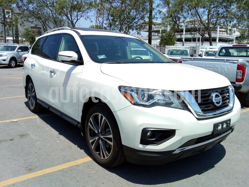 Nissan Pathfinder Exclusive usado (2019) color Blanco precio $664,000