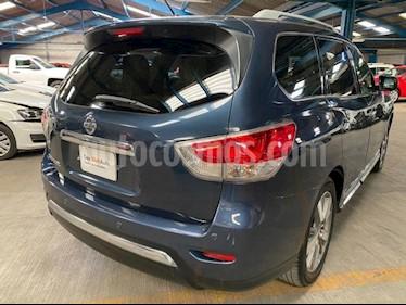 Nissan Pathfinder Exclusive usado (2013) color Azul precio $219,000