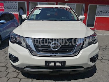 Nissan Pathfinder Advance usado (2018) color Blanco precio $444,000