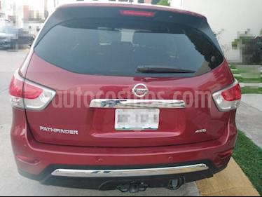Nissan Pathfinder Exclusive usado (2016) color Rojo precio $335,000