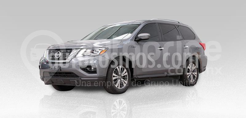 Nissan Pathfinder Sense usado (2017) color Gris precio $345,000