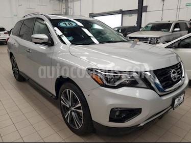 Nissan Pathfinder Exclusive usado (2018) color Plata precio $515,000