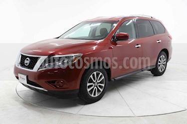 Nissan Pathfinder 5p Sense V6/3.5 Aut usado (2014) color Rojo precio $223,000