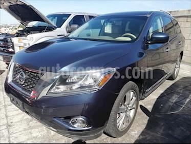 Nissan Pathfinder 5P EXCLUSIVE AUT V6 usado (2013) color Azul Marino precio $265,000