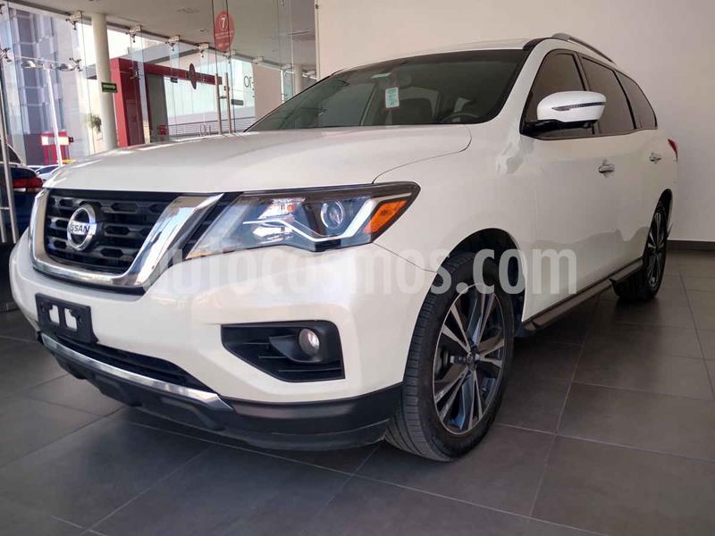 Nissan Pathfinder Exclusive 4x4 usado (2018) color Blanco precio $509,000