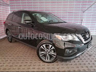 Nissan Pathfinder Exclusive usado (2018) color Negro precio $560,000