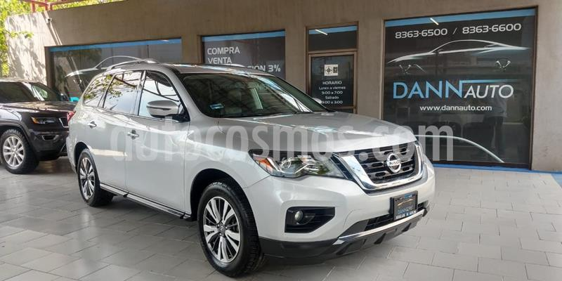 Nissan Pathfinder Advance usado (2017) color Plata Dorado precio $369,000