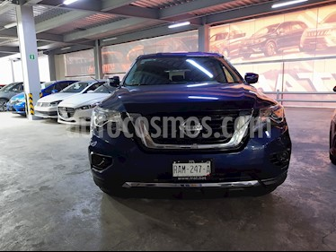 Nissan Pathfinder Sense usado (2017) color Azul precio $350,000