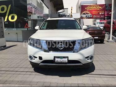Nissan Pathfinder 5p Exclusive V6/3.5 Aut AWD usado (2016) color Blanco precio $389,000