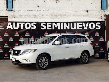 Nissan Pathfinder Exclusive usado (2016) color Plata precio $295,000