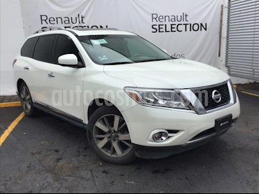 Nissan Pathfinder Exclusive usado (2015) color Blanco precio $300,000