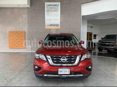 Nissan Pathfinder 5p Exclusive V6/3.5 Aut AWD usado (2017) color Rojo precio $430,000