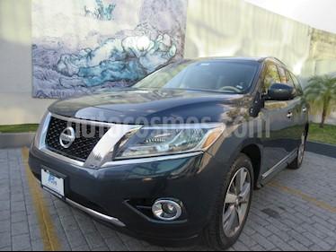 Nissan Pathfinder Exclusive usado (2013) color Azul precio $224,700