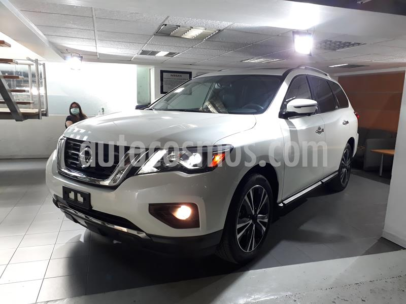 Nissan Pathfinder Exclusive usado (2018) color Blanco precio $555,000