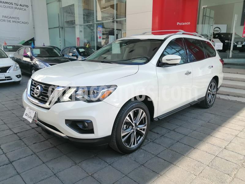 Nissan Pathfinder Exclusive usado (2017) color Blanco precio $420,000