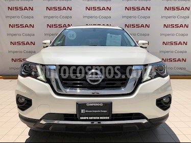Nissan Pathfinder Exclusive 4x4 usado (2018) color Blanco precio $680,000