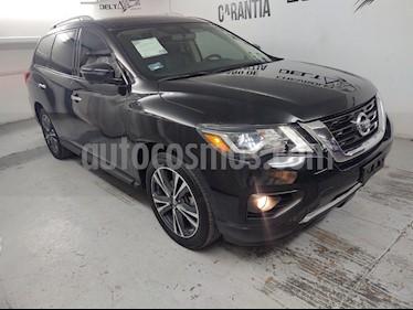 Nissan Pathfinder Exclusive 4x4 usado (2018) color Gris Oxford precio $470,000