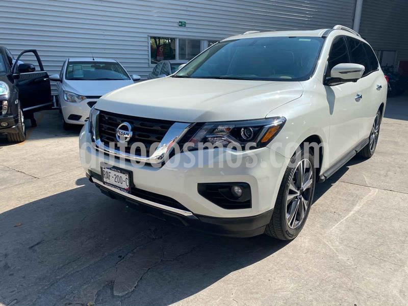 Nissan Pathfinder Exclusive usado (2017) color Blanco precio $370,000