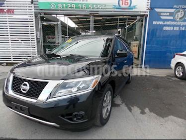 Nissan Pathfinder Sense usado (2015) color Negro precio $309,000