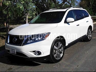 Nissan Pathfinder Exclusive 4x4 usado (2014) color Blanco precio $249,000