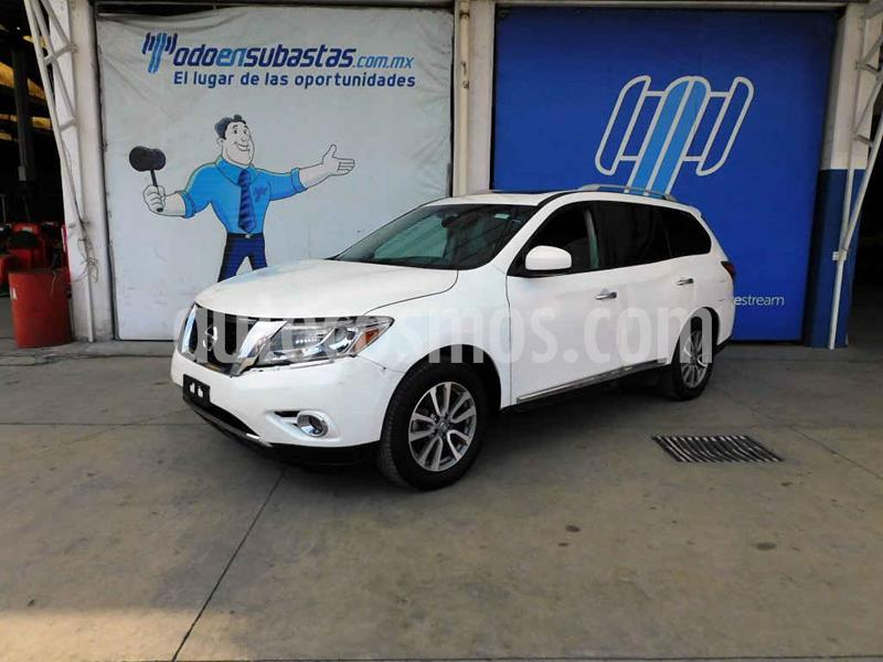 Nissan Pathfinder Advance usado (2014) color Blanco precio $136,000