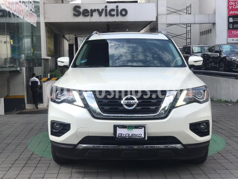 Nissan Pathfinder Exclusive usado (2018) color Blanco precio $549,000