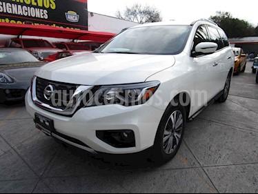 Nissan Pathfinder Advance usado (2017) color Blanco precio $399,000