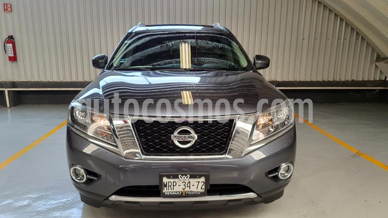 Nissan Pathfinder Advance usado (2014) color Gris Oxford precio $299,000
