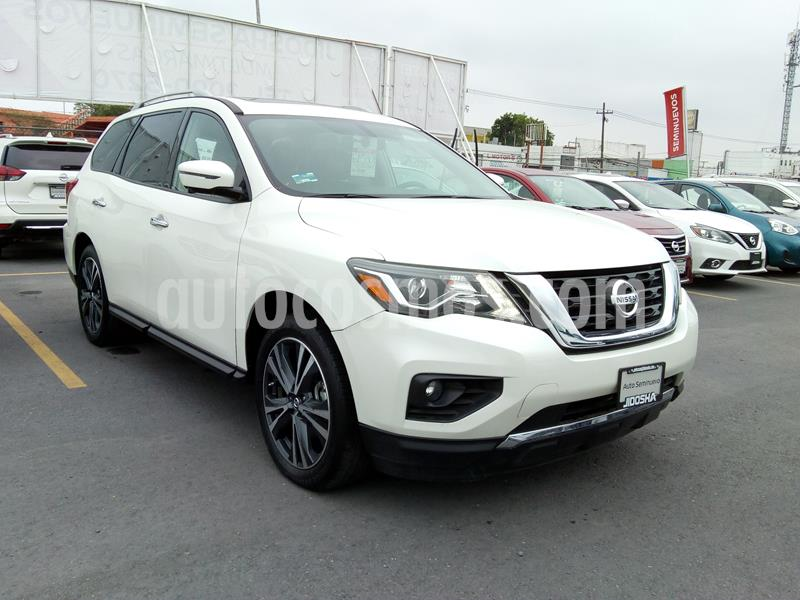 Nissan Pathfinder Exclusive 4x4 usado (2017) color Blanco precio $554,000