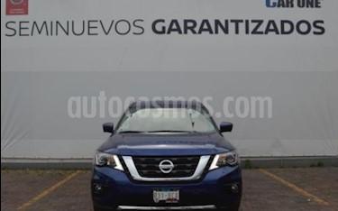 Nissan Pathfinder Exclusive usado (2019) color Azul precio $710,000