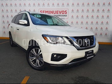 Nissan Pathfinder Advance usado (2017) color Blanco precio $430,000
