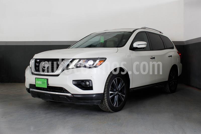 Nissan Pathfinder Exclusive usado (2017) color Blanco precio $450,000
