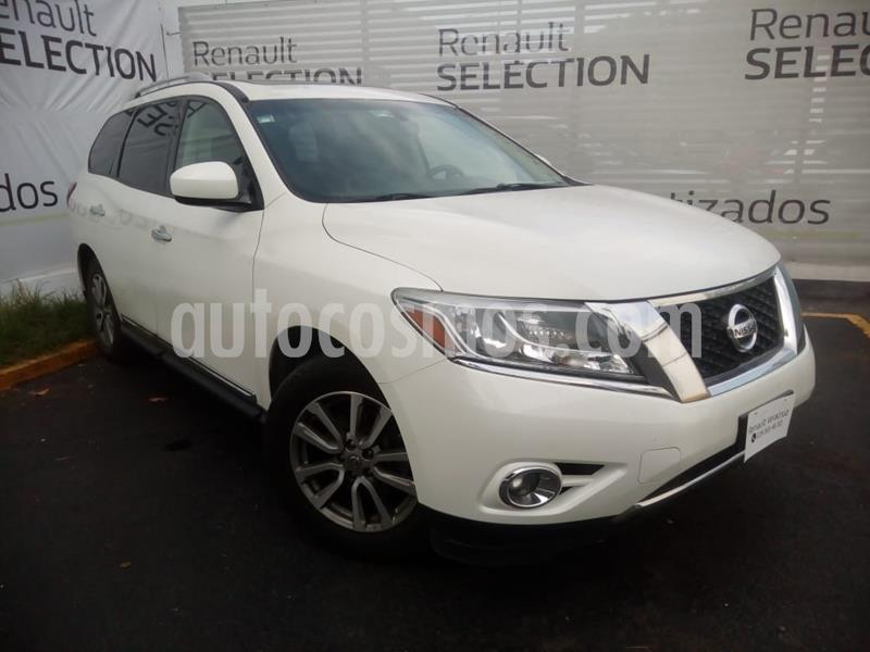 Nissan Pathfinder Advance usado (2015) color Blanco precio $300,000