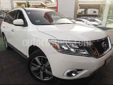 Nissan Pathfinder Exclusive 4x4 usado (2014) color Blanco precio $265,000