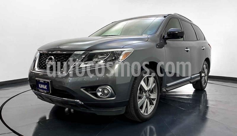 Nissan Pathfinder Exclusive usado (2015) color Gris precio $312,999