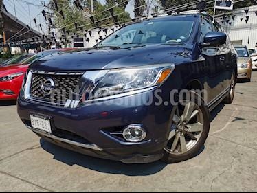 Nissan Pathfinder Exclusive usado (2014) color Azul precio $250,000