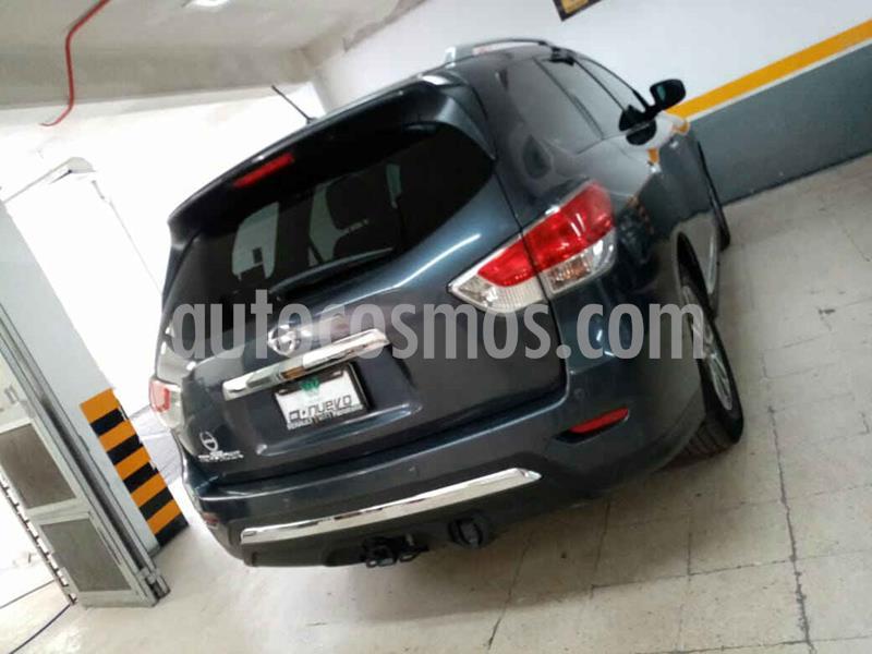 Nissan Pathfinder Advance usado (2014) color Gris precio $295,000
