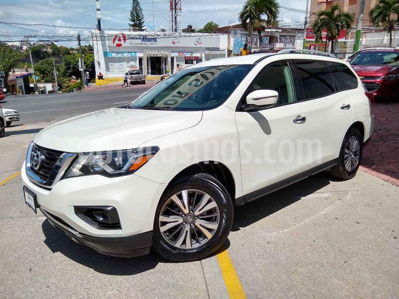 Nissan Pathfinder Sense usado (2017) color Blanco precio $348,100