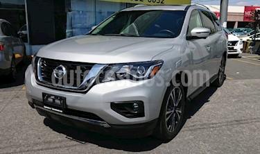 Nissan Pathfinder Exclusive usado (2017) color Plata precio $455,000