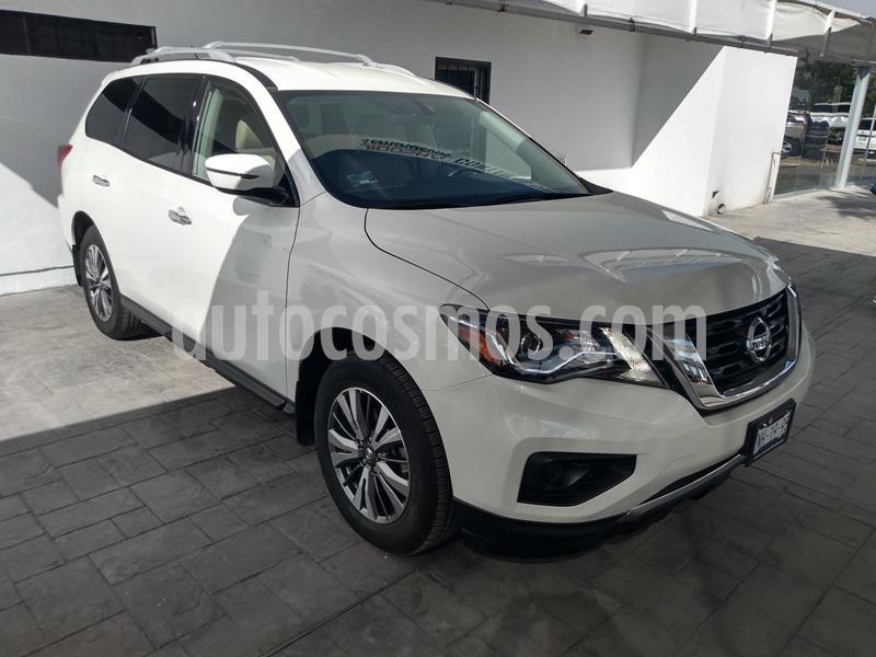 Nissan Pathfinder Sense usado (2018) color Blanco precio $429,000