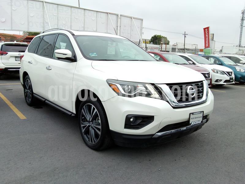 Nissan Pathfinder Exclusive 4x4 usado (2017) color Blanco precio $430,325