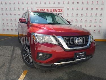 Nissan Pathfinder Exclusive usado (2018) color Rojo precio $545,000