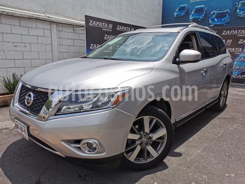 Nissan Pathfinder Exclusive usado (2013) color Plata precio $215,000