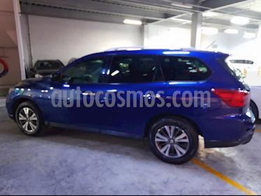 Nissan Pathfinder Sense usado (2017) color Azul precio $375,000