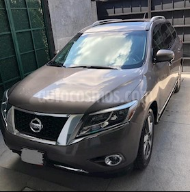 Nissan Pathfinder Exclusive usado (2013) color Cocoa Metalico precio $260,000